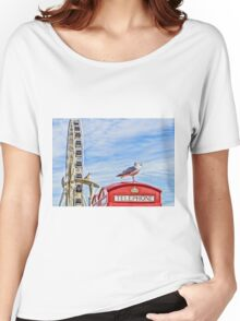 Brighton seafront Women's Relaxed Fit T-Shirt