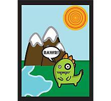 RAWR! Photographic Print