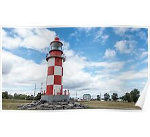 A light house on display Poster