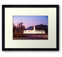 Conservator, Fountain & Sculpture Framed Print
