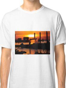 Sunset on Delaware Bay Classic T-Shirt