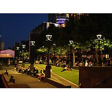 Southbank at night, Melbourne Photographic Print