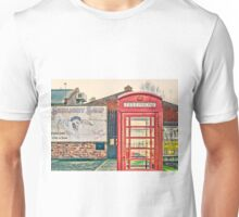 Red telephone box Unisex T-Shirt