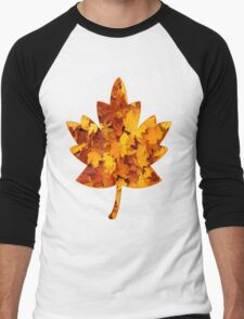 Autumn Leaves Men's Baseball ¾ T-Shirt