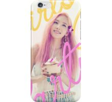 SNSD-TAEYEON-PARTY iPhone Case/Skin