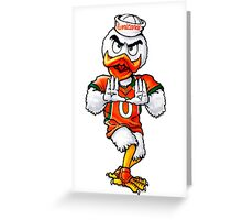 Canes Greeting Card