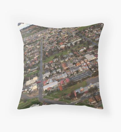 Yarrawonga - Closeup Throw Pillow