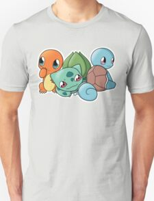 Pokemon - Kanto Starters T-Shirt