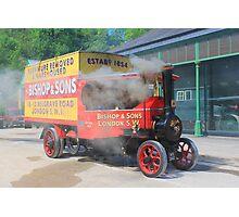 Steam Wagon. Photographic Print