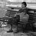 Old women by RAY AGIUS