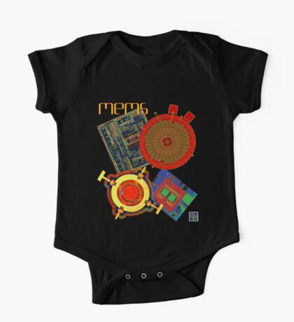 """""""MEMS - Microelectromechanical Systems""""©  One Piece - Short Sleeve"""