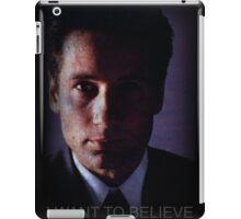 X-files, Fox Mulder,  iPad Case/Skin
