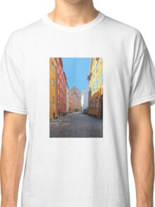 Magstraede - the oldest street in Copenhagen, Denmark Classic T-Shirt