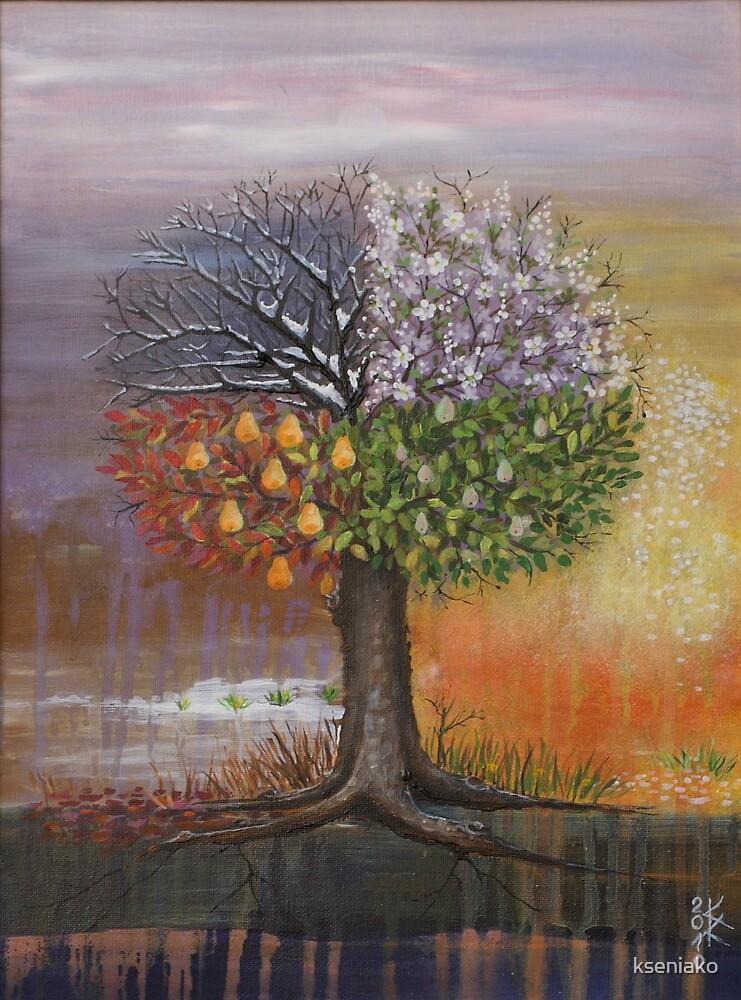 Seasons by kseniako