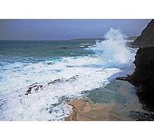 Newcastle Splash Zone Photographic Print