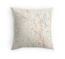 Massachusetts  USGS Historical Topo Map MA Sandisfield 353016 1888 62500 Throw Pillow