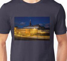 Night view on Christiansborg Palace in Copenhagen, DENMARK Unisex T-Shirt