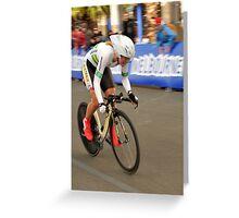 UCI 2010 Go...Go...Australia !!! Greeting Card