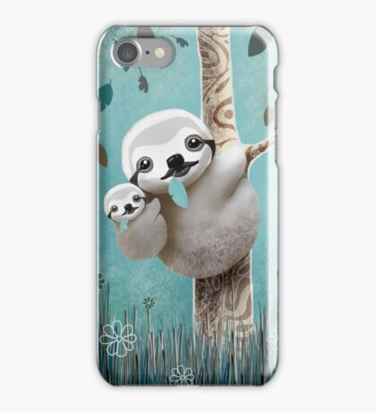 Baby Sloth Daylight iPhone Case/Skin