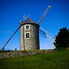 Mill on blue - Brittany coast by nincdg