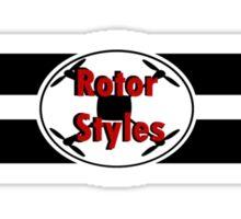 Rotor Styles Sticker