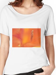 Orange Gladiolus, As Is Women's Relaxed Fit T-Shirt