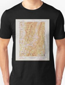 Massachusetts  USGS Historical Topo Map MA Hancock 351776 1948 31680 T-Shirt