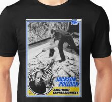 Jackson Pollock Trading Card Unisex T-Shirt