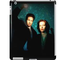 X-files, Scully and Mulder iPad Case/Skin