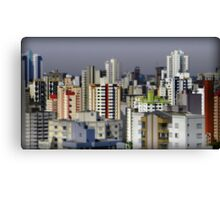 Goiania - Apartment Buildings Canvas Print