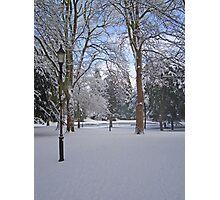 Tranquil snow scene Photographic Print