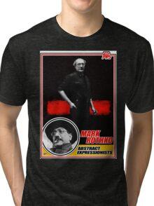 Mark Rothko Trading Card Tri-blend T-Shirt