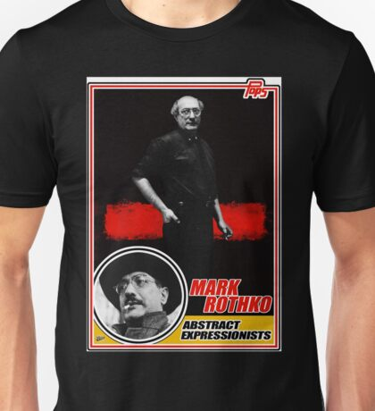 Mark Rothko Trading Card Unisex T-Shirt