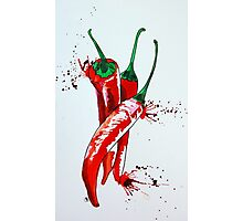 Chilli vertical Photographic Print