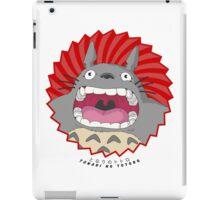Totoro! Totoro! Totoro! iPad Case/Skin