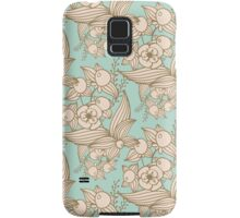 Vector other flowers seamless decorative pattern Samsung Galaxy Case/Skin