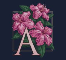A is for Azalea - patch by Stephanie Smith