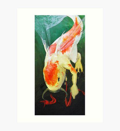 Libellenfisch Art Print