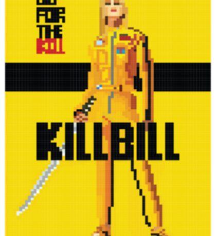 Kill Bill Pixel Sticker Sticker