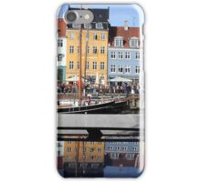 Nyhavn area in Copenhagen, Denmark iPhone Case/Skin