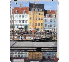 Nyhavn area in Copenhagen, Denmark iPad Case/Skin