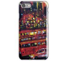 London city bus iPhone Case/Skin