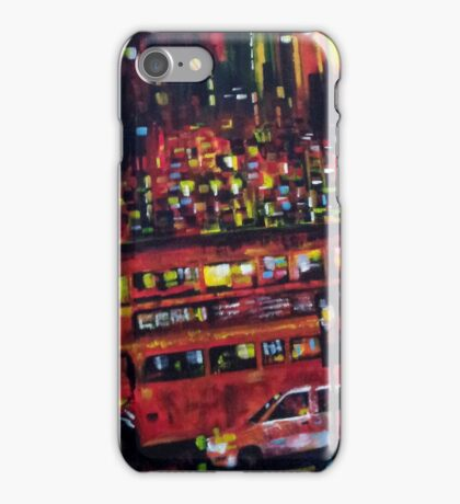 London city bus iPhone Case/Skin