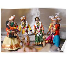 Indian Wedding Dolls Poster