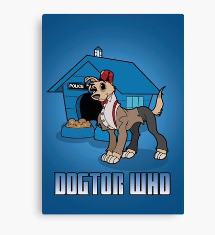 Dogtor Who 11 Canvas Print
