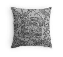 A Dragonfly's world  Throw Pillow