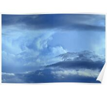 Tidal Wave ~ of clouds Poster