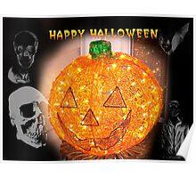 Happy Halloween Card II Poster