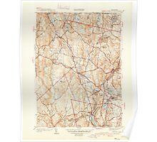 Massachusetts  USGS Historical Topo Map MA Sterling 352230 1940 31680 Poster