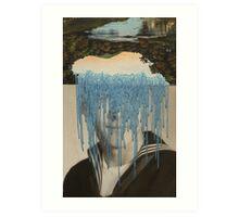 Waterfall Dialogue Art Print